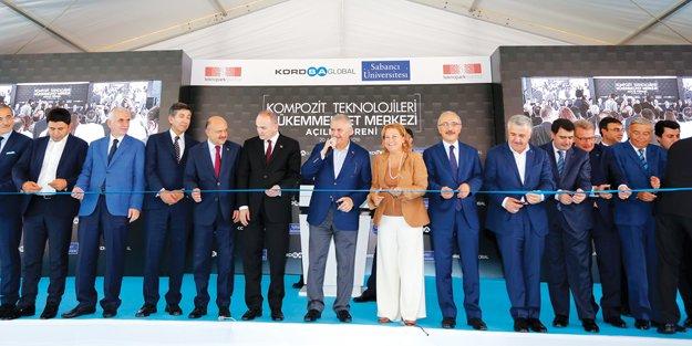 Kompozit Teknolojileri Mükemmeliyet Merkezi açıldı