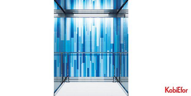KONE'den ödüllü iç kabin tasarımları; şimdi asansörler çok farklı