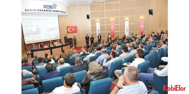 Konya OSB, 15.Olağan Genel Kurulu yapıldı