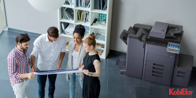 Kyocera'dan 5 yeni A3 ebatlı fotokopi