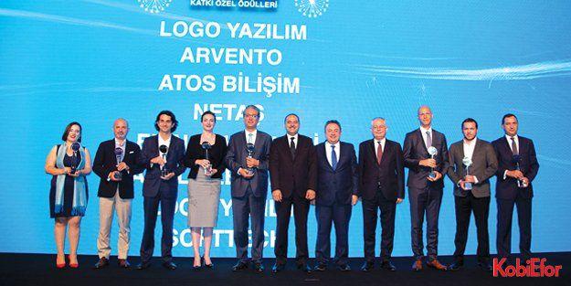 Logo Yazılım'a Bilişim 500'den 5 ödül