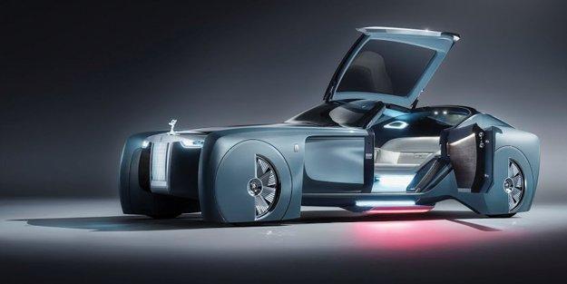 Lüks mobilitenin geleceğine dair vizyon: Rolls-Royce vision NEXT 100