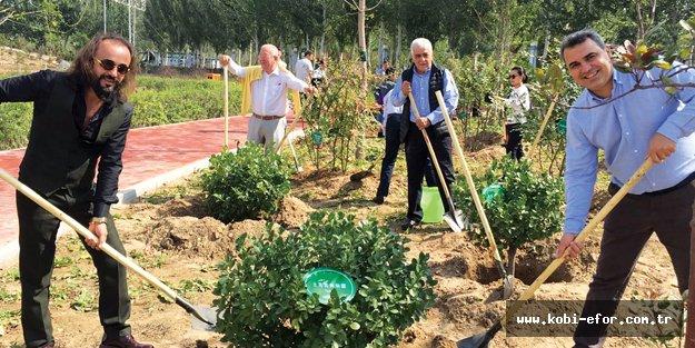 Marmara Grubu Vakfı'nın Çin'de artık 3 dikili ağacı var