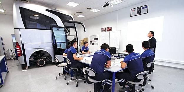 Mercedes-Benz Türk'e, işbaşında eğitim projesiyle GAN TÜRKİYE Özel Ödülü
