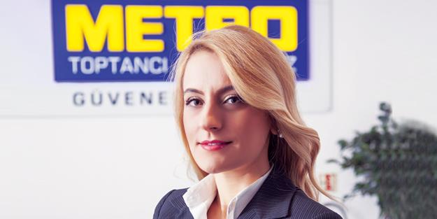 Metro Kurumsal İletişim Müdürü;  BİLGE CEYLAN