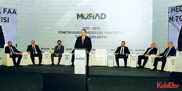 """MÜSİAD Başkanı Kaan açıkladı: 'KOBİ'ler için TOSİ'ler kuracağız"""""""
