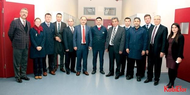 NKÜ Rektörü Prof.Dr. Osman Şimşek'ten Özel ÇOSB Okulu'na ziyaret