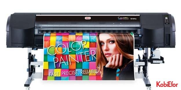 OKI'den ColorPainter Premium yazıcı