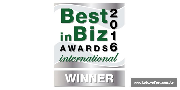 OMSAN'a 'International Best in Biz Awards'tan Gümüş Ödül