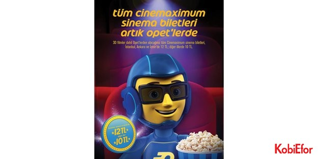 OPET ve Cinemaximum'dan 'Sinema Devrimi""