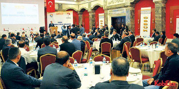 OSBÜK Doğu Anadolu Bölge Toplantısı, Elazığ'da yapıldı