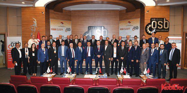 OSBÜK İç Anadolu Bölge Toplantısı, Kayseride gerçekleştirildi