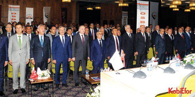 OSBÜK Marmara Bölge Toplantısı, Kocaelide yapıldı