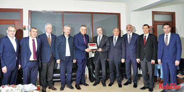 OSBÜK'ten Hatay çıkarması; Türkiye'nin en büyük OSB'si Hatay'da kuruluyor