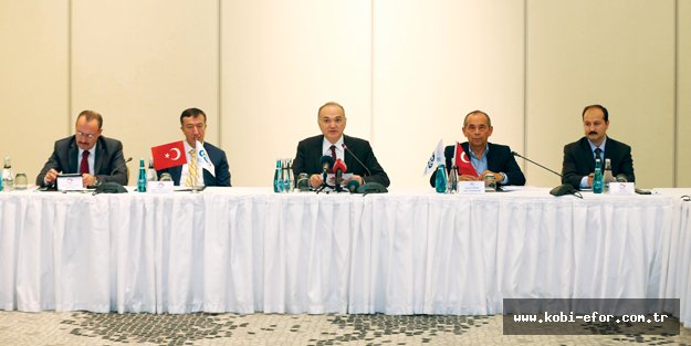OSD temsilcileri, Bakan Faruk Özlü ile sektörü konuştu