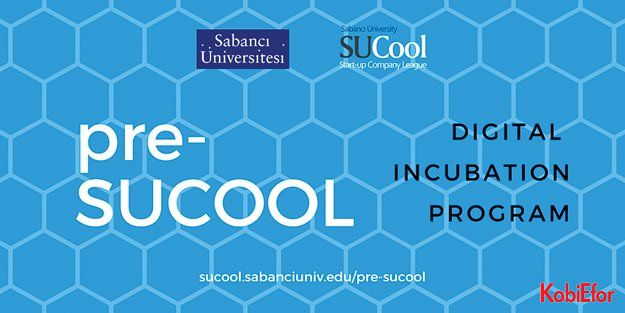 Sabancı Üniversitesi SUCOOL'dan Türkiye'de bir ilk: pre-SUCOOL