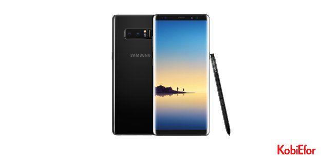 Samsung Galaxy Note 8, Türkiye'de 18 Eylül'de satışta