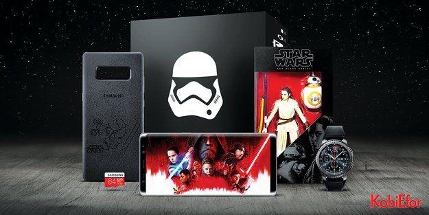 """Samsung 'Star Wars: Son Jedi""""ın vizyona girişini özel bir koleksiyon ile kutluyor"""