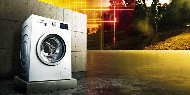 """Siemens'ten Yeni Multitouch 'iDos"""" akıllı dozaj sistemli çamaşır makinesi"""