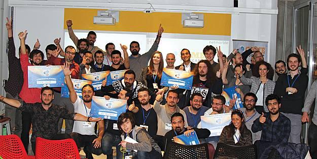 Startupbootcamp İstanbul'un desteklediği 8 girişim sahneye çıktı