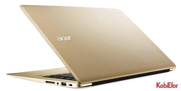 Tasarım ve üstün teknolojiyi buluşturan dizüstü bilgisayar Acer Swift 3