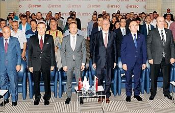 TOSYÖV, KGF, KOSGEB, BTSO ve DenizBank, Bursalı KOBİ ve girişimcilere anlattı: