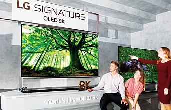 LG, 8K OLED ve NanoCell TV'lerini global pazara sunuyor