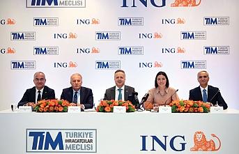 ING Türkiye ve TİM işbirliği ile ihracatçılara avantajlı kredi