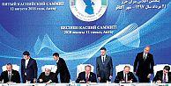 5 ülke Hazar Denizinin hukuki statüsünde anlaştı