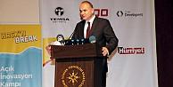 Bakan Faruk Özlü: Türkiyede açık inovasyon felsefesi yaygınlaşmalı