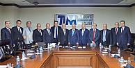 Çelik ihracatçıları Ekonomi Bakanı Elitaş ile görüştü
