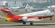 Çin'in ticari havacılık piyasasındaki ilk jeti havada
