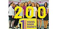 Gratis, Türkiye'de 200 mağazaya ulaştı