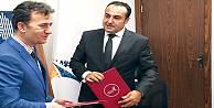 """Halkbank ile Gebze Teknik Üniversitesi Girişimcilerle İşbirliği"""" protokolü imzaladı"""