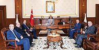 Kocaeli Alikahya OSB yönetiminden Kocaeli Valisi Hüseyin Aksoy'a ziyaret