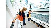 KONE yürüyen merdivenlerde, teknoloji güvenliğin emrinde