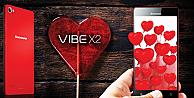 Lenovo Kırmızı Vıbe X2 ile hep aşık kalın