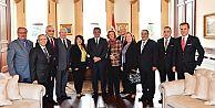 Marmara Grubu Vakfı'ndan Abdullah Gül'e teşekkür ziyareti