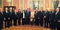 Marmara Grubu Vakfı'ndan İstanbul Valisi Vasip Şahin'e ziyaret