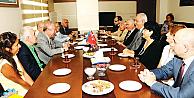 Marmara Vakfı'ndan Azerbaycan İstanbul Başkonsolusluğu'na ziyaret
