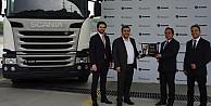 Naturelgaz, Scaniadan Türkiyenin ilk CNGli çekicisini aldı