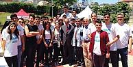 Osman Deveci, TASEV öğrencileriyle buluştu