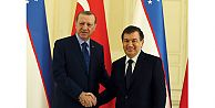 Özbekistan Cumhurbaşkanı Şavkat Mirziyoyev, Erdoğanın davetlisi olarak Türkiyeye geliyor
