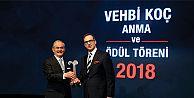 Prof. Dr. Yılmaz Büyükerşen, 17. Vehbi Koç Ödülü'nün sahibi oldu