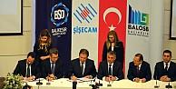 Şişecam Topluluğu ile Balıkesir OSB yatırım için imzayı attı