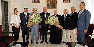 Yeni atanan Süryani Katolik Patrik Vekilini Marmara Grubu Vakfı ziyaret etti
