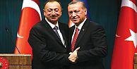 Yeniden Azerbaycan Cumhurbaşkanı seçilen İlham Aliyev, ilk uluslararası ziyaretini Türkiye'ye yaptı