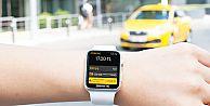 BiTaksi ile seyahat et MasterPass ile Apple Watch'ından öde