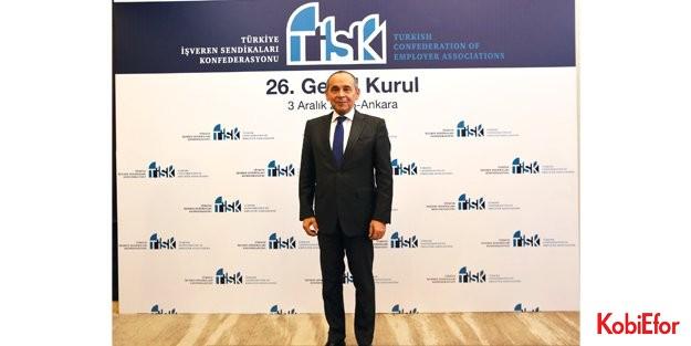 Tisk Yönetim Kurulu Başkanlığı'na Kudret Önen seçildi