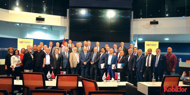TOSYÖV Mütevelli Heyet Olağan Genel Kurul Toplantısı, Ankara'da yapıldı TOSYÖV güven tazeledi